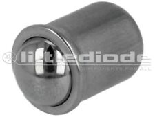 GN614-6-NI Smooth ball spring plunger stainless steel 6mm F15.5N