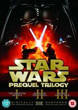 STAR WARS PREQUEL TRILOGY 1 - 3 Theatrical Remastered 1 2 3 New UK 6 Discs DVD