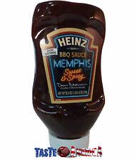 Heinz Memphis dulce n picante BBQ Sauce 578g BB 25/9/19