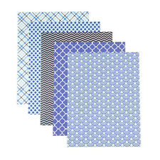 Patterned 8.5x11 Cardstock Paper Pack, Little Prince Prints, 25 Sheets