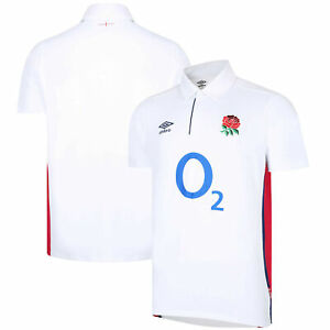England Rugby Home Classic Jersey 2021/22 - White - Mens