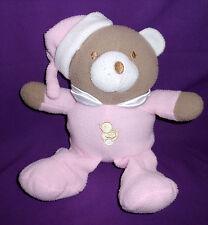 Teddy Bear Baby Cuddly Animal Toy M.Rattle Stuffed Plush 28cm