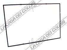 CORNICE A GIORNO CON PROFILO IN LEGNO - NERO - 30x45 cm