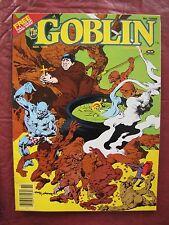 The Goblin # 3-- 1982 Warren Magazine  low print run with color insert