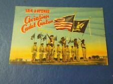 1944 San Antonio Aviation Cadet Center US Military WWII Era Postcard c