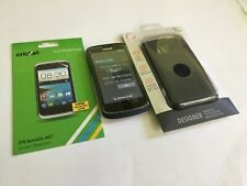 ZTE Sonata 4G Smartphone Cricket Blue Android Phone With FREE Screen Protection.