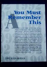 1992 James River High School Yearbook - Buchanan, VA