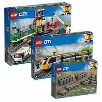LEGO City Train Combo Pack inc Passenger & Cargo Trains with Extra Track Pieces!