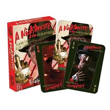 NIP Playing Cards * Nightmare on Elm Street * Freddy Krueger Horror Movie