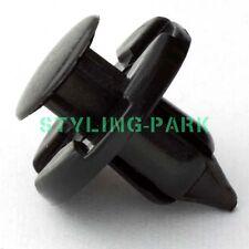 95 X Rivet Fastener Bumper Guard Flap Push Clips For Nissan 01553-09321 Infiniti