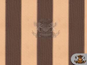 """Indoor/Outdoor Waterproof Bordered Deck Stripe Fabrics / 60"""" Wide / Sold BTY"""