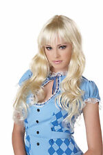 Coquette Bar Maid Adult Costume Wig - Blonde