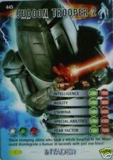 DR WHO INVADER CARD 445 JUDOON TROOPER 2 - MINT !!