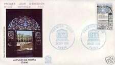 S89+ FDC ENVELOPPE 1er JOUR   UNESCO LA PLAZA  ARMAS