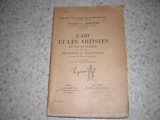 1921.art et artistes en ile de France au XVIe / Leblond.Beauvais