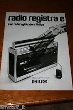AM10=1972=PHILIPS RADIOREGISTRATORE STEREO=PUBBLICITA'=ADVERTISING=WERBUNG=