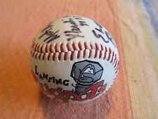 Lansing Lugnuts 1990s Signed Baseball Scott Mullen Elwood Blues Brothers Mascot