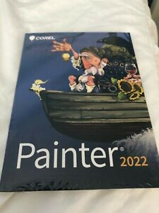 COREL PAINTER 2022 SOFTWARE NEW SEALED BOXED UNUSED FOR WINDOWS