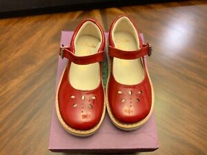 Toddler Clarks Crown Posy Red Patent 8T (EU 24)