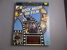 +/  ENCYCLOPEDIA of ROCK MUSIC on FILM-BOOK-PRINCE-BOWIE-HENDRIX1987 SOFT COVER