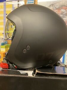 Premier Rocker LN 9 BM Black / Silver Motorbike Motorcycle Helmet