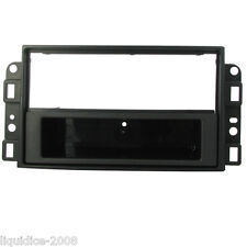 CT24CV01 CHEVROLET KALOS 2006 to 2011 BLACK SINGLE DIN FASCIA FRAME WITH POCKET