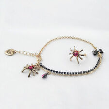 and Toe Ring Betsey Johnson Spider Anklet