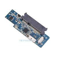 """USB 3.0 To SATA Super Speed 22 Pin 2.5"""" Hard Disk Driver SSD Adapter Card +Cable"""