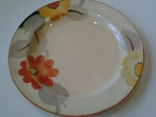 GRAY'S POTTERY: SMALL PLATE - MARIGOLD PATTERN - ART DECO - 1930s.