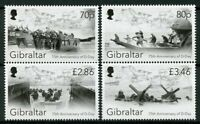 Gibraltar 2019 MNH WWII WW2 D-Day 75th Anniv 4v Set Ships Military War Stamps
