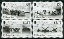 Gibraltar 2019 MNH WWII WW2 D-Day 75th Anniv 4v Set Ships Military War Stamps