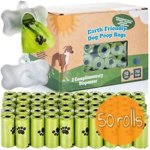 Umweltfreundliche Hundekotbeutel mit Spender & Duft Gassibeutel Hunde Kotbeutel