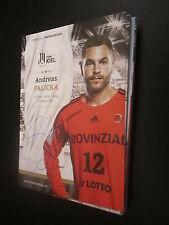 48547 Andreas Palicka THW Kiel Original signierte Autogrammkarte Handball