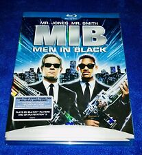 Men In Black Mib Blu-ray With Slipcover Will Smith (2008) New! Fast Ship