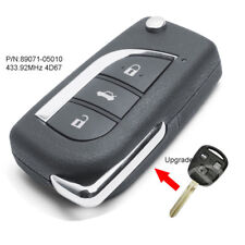 Upgraded Remote Key 433.92MHz 4D67 for Toyota Avensis 2003-2008 FCC: 89071-05010