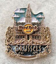 HARD ROCK CAFE BRUSSELS 3D CORE ICON SERIES PIN # 95934