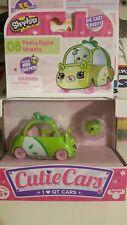 Shopkins Cutie Cars Peely Apple Wheels w/miniShopkin Series1 Shoppie Blossom Car