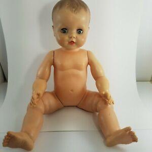 "Vintage 1958 Eegee drink and sleep 22"" baby doll CS# 24-5 - RARE"