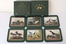 Jason Coasters Drinks NZ - John James Audubon - Ducks - VGC - Cork Backs