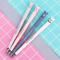 1/4Pcs Kawaii Cute 0.38mm Erasable Gel Pen School Office Stationery Writing Tool