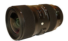 Sigma 18-35mm f/1.8 DC HSM Lens for Nikon!! Brand New!!
