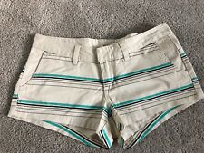 *NWOT* BILLABONG Womens Striped Shorts-Size 5