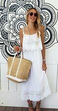Zara Cotton Sleeveless Dresses Midi