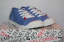 LE TEMPS DES CERISES - Baskets mode Fille - BASIC 02 Bleu Moyen  T 32  neuf