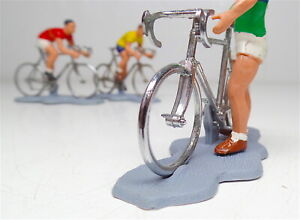 Vintage Britains Ltd Herald Series Cyclist ,Tour De France , Lot of 3