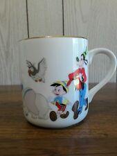 Walt disney world land mickey mouse donald pluto dumbo pinocchio coffee cup
