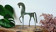 C.1960s Mid-century Frederick Weinberg Bronze brass Greek Etruscan Trojan Horse