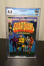 Marvel-Super-Heroes #18 guardians of the galaxy 1st appearance CGC 4.5