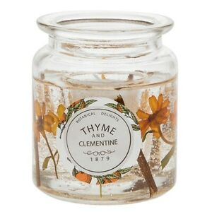 Flora Candle Jar Thyme and Clemantine **** SPECIAL OFFER******
