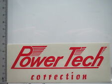 Adesivo sticker POWER TECH-correction-MOTORSPORT TUNING (6298)